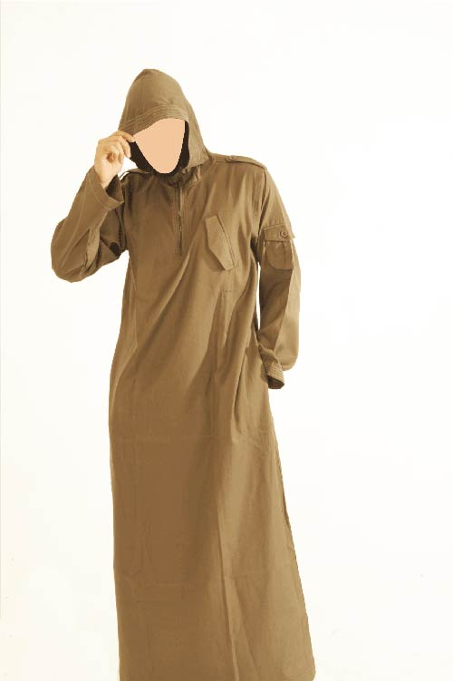 CM Hooded Brown Jubba (New)