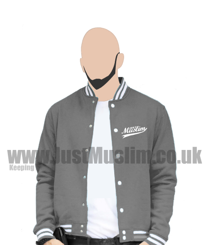 American Baseball Jacket (Dark Gray)