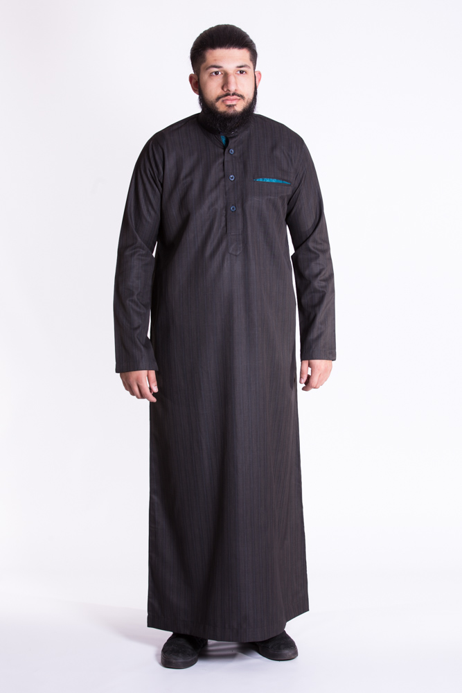 Mulberry Marl Turqoise  Jubba (Just In)