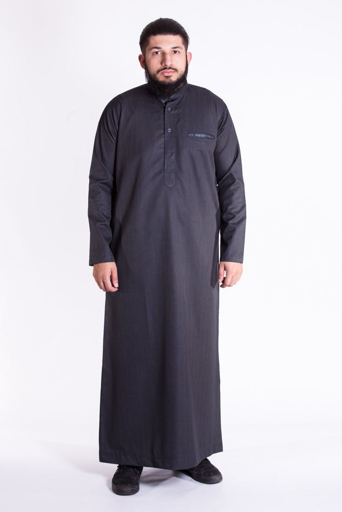 Mulberry Tripple Black  Jubba (Just In)