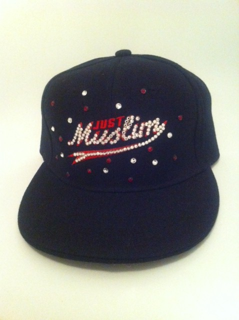 Just Muslim Cap -Black & Red £24.99
