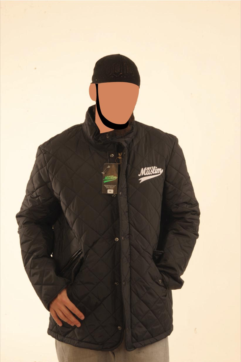 Sportquilt jacket (Black)