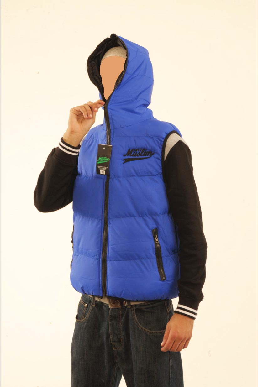Royal Blue & Black Bodywarmer