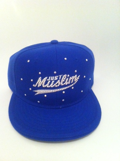 Just Muslim Cap -Blue & White £24.99