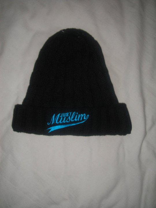 Black & Blue Hat