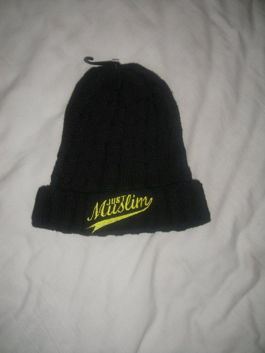 Just Muslim Classic Black & Yellow Hat