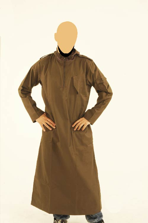 CM Hooded Dark  Brown Jubba (New)