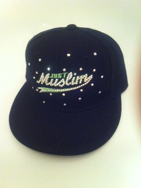 Just Muslim Cap -Black & Fluorescent  £24.99