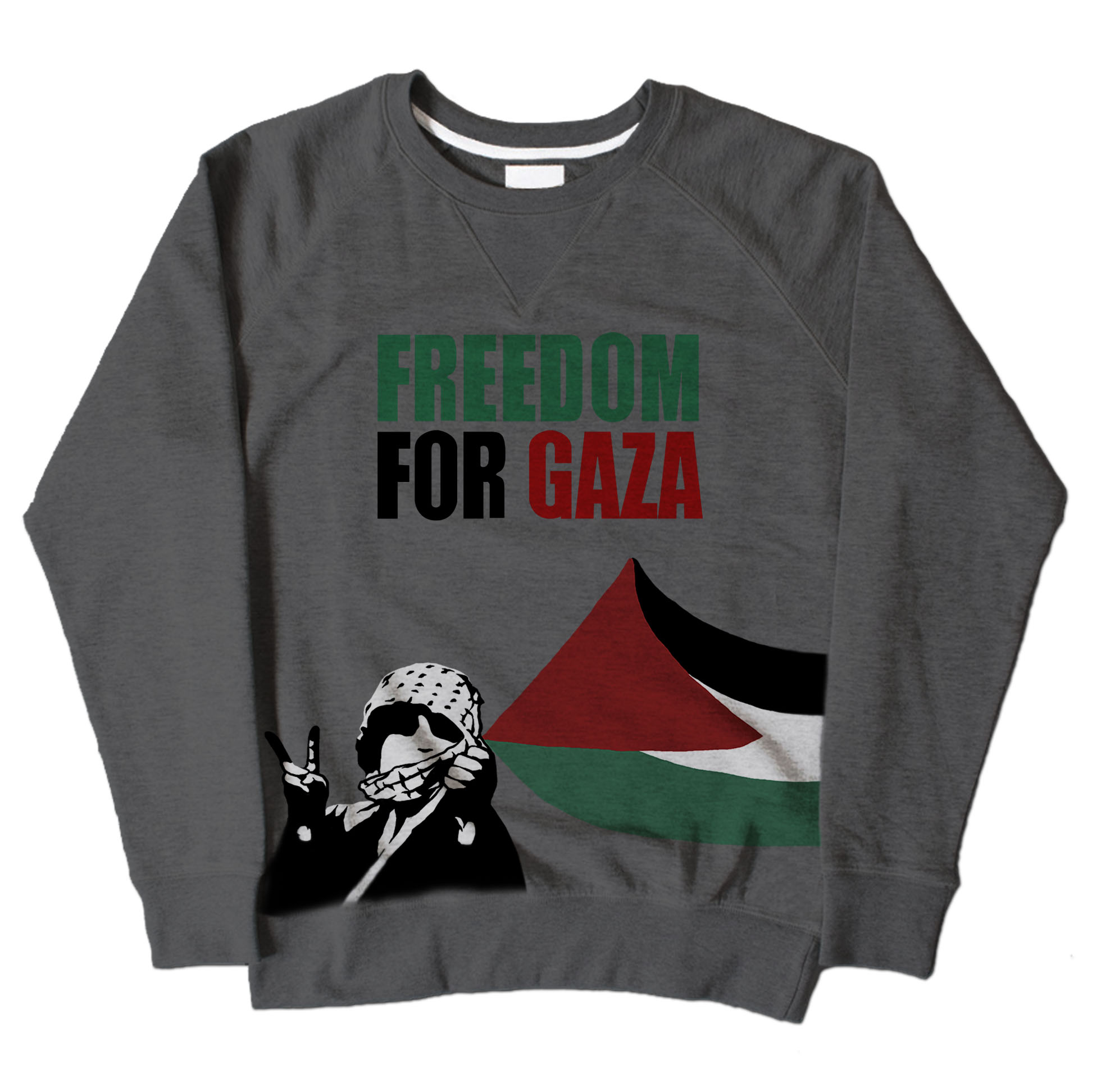 Freedom For Gaza - Dark Grey