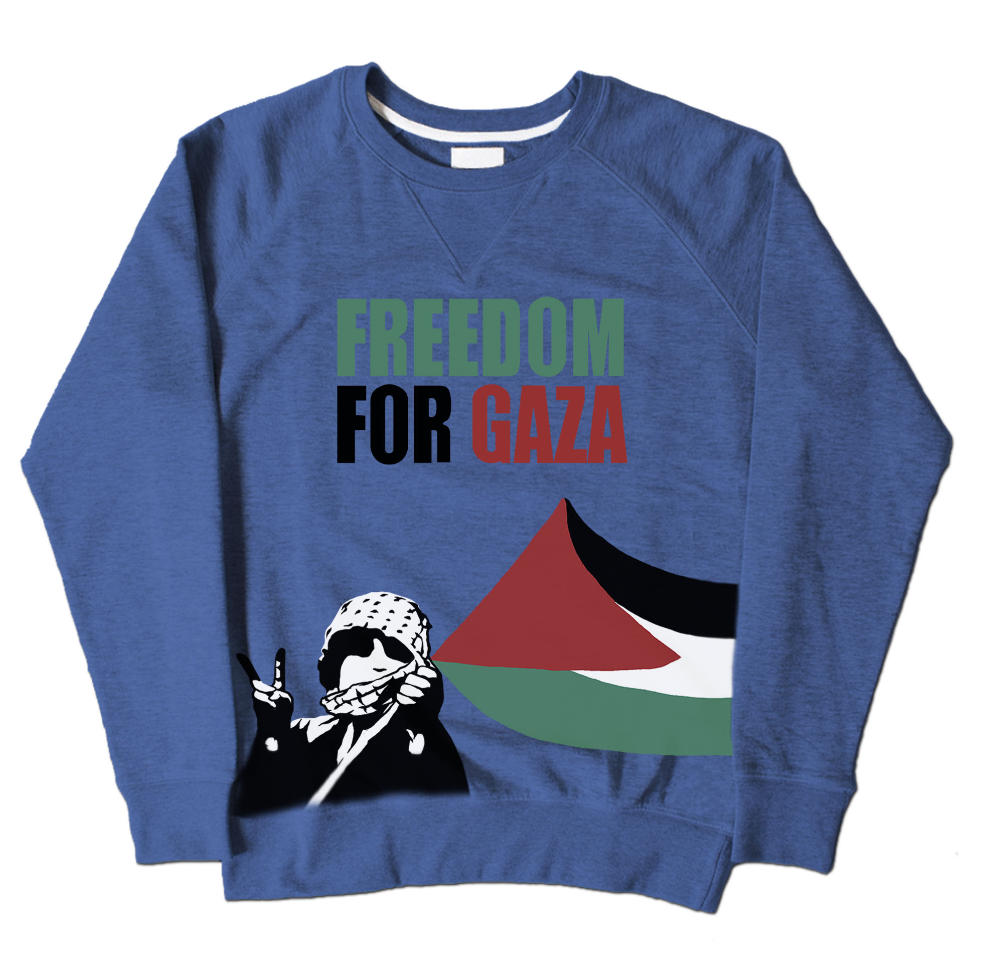 Freedom For Gaza - Blue