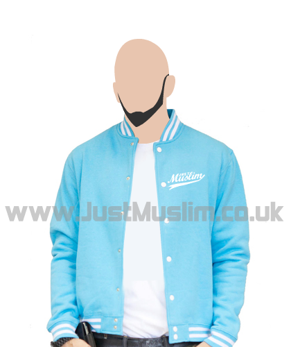 American Baseball Jacket (Blue)