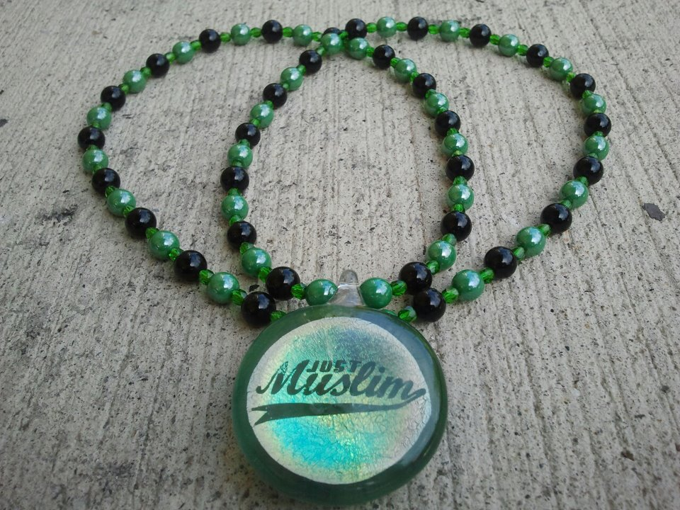 Blown Glass Pendant (JustMuslim)