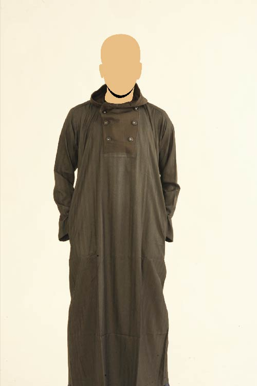 Recolite  Hooded Black Jubba (New)