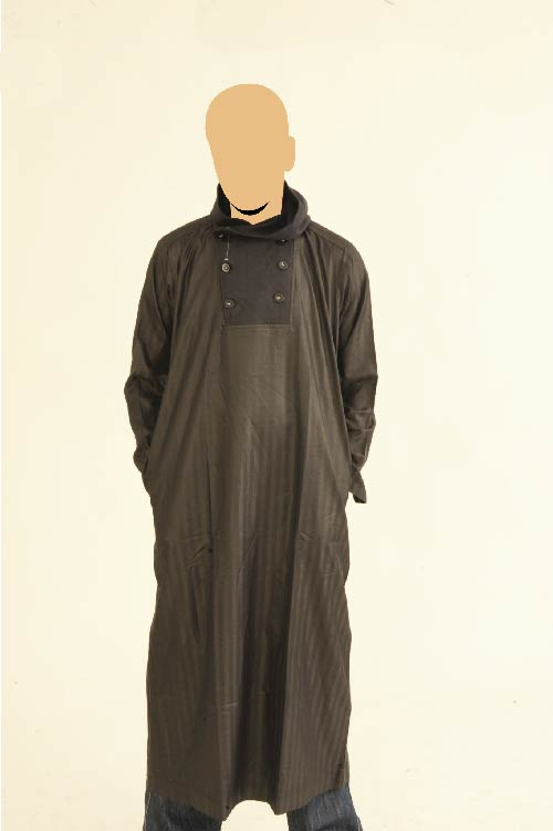 Recolite  Hooded Navy Jubba (New)