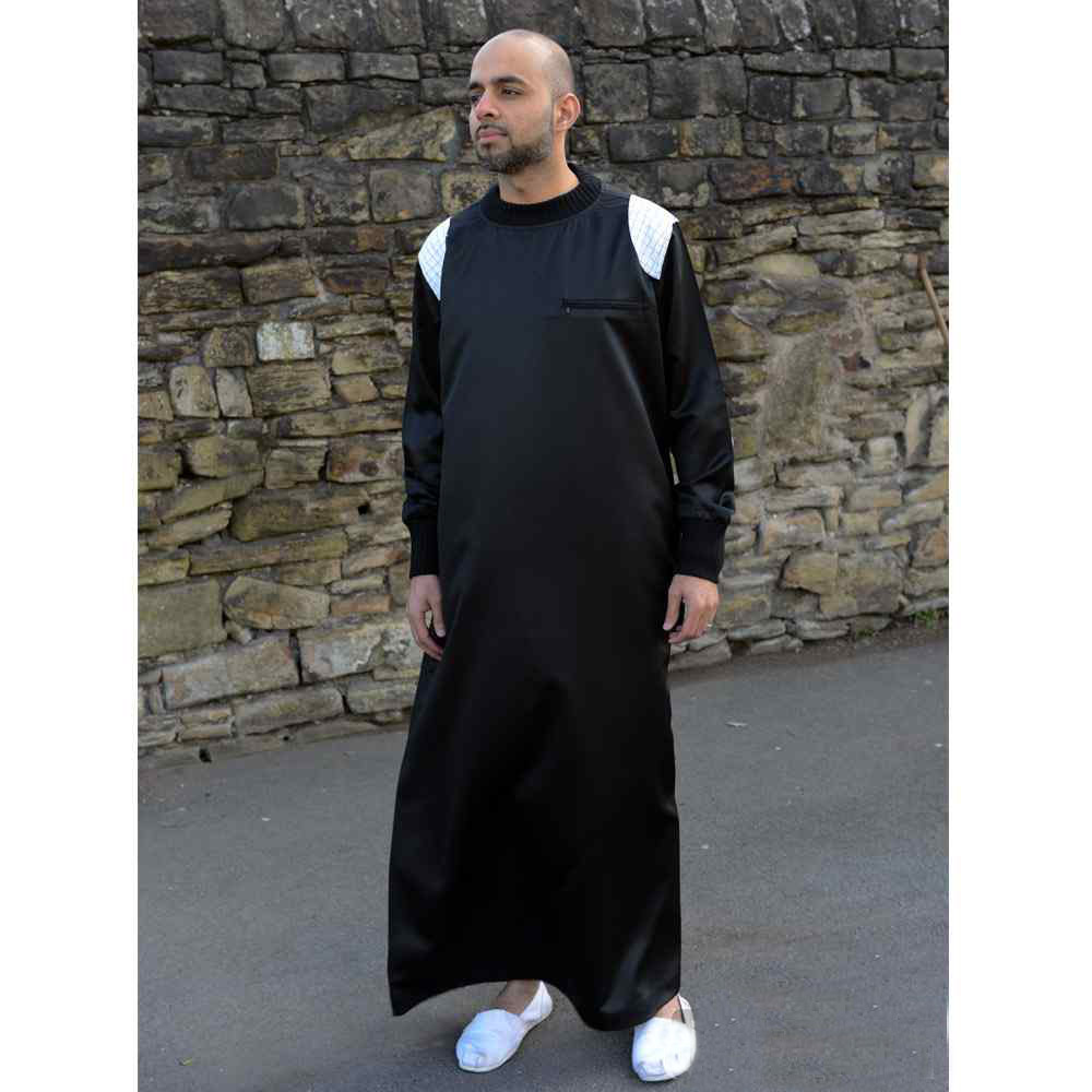 Mens Patch Black Jubba