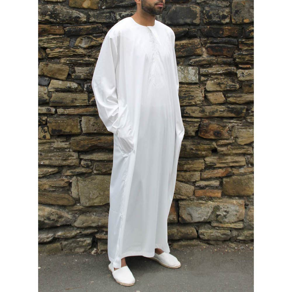 Off White Omani Jubba