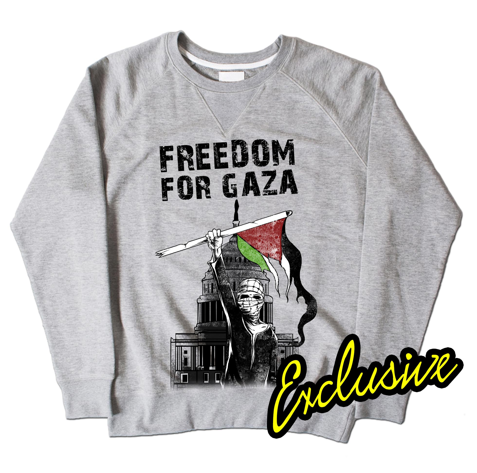 Exclusive Freedom Fighter - Grey