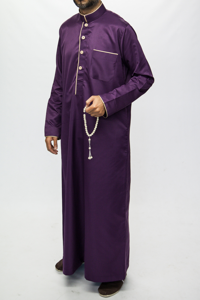 Purple Pipping Jubba